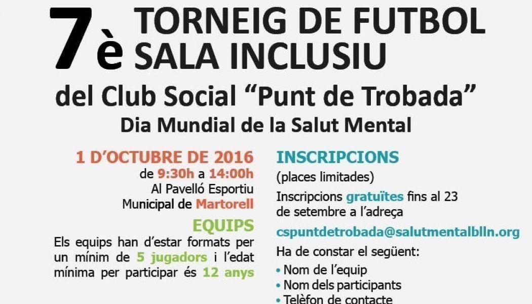 VII Torneig De Futbol Sala Inclusiu