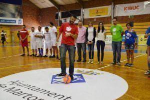 Sacada d'Honor del VI Torneig de Futbol Sala Inclusiu