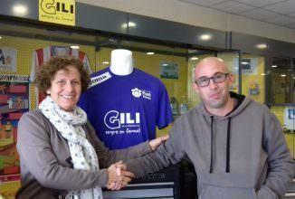 Acord de patrocini entre Gili i l'Associació per la Salut Mental del Baix Llobregat Nord