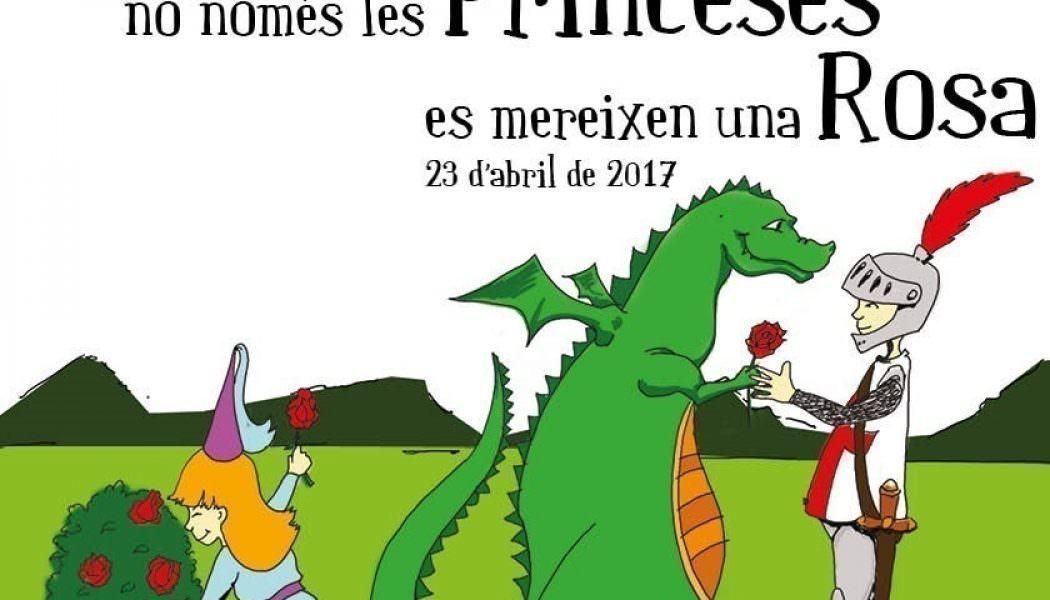 Per Sant Jordi, No Només Les Princeses Es Mereixen Una Rosa